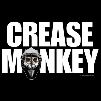Hockey Crease Monkey