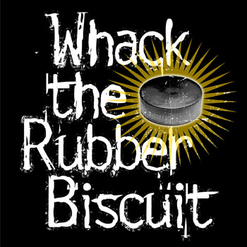 Whack the Rubber Hockey Biscuit
