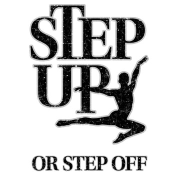 step up or step off